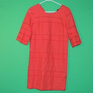J.CREW Womens 0 3/4 Sleeve Casual Dress NEW